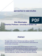 Narrative Approaches to Case Studies