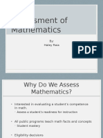 assessments in math