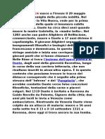Dante Alighieri Bio