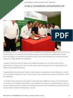 08-10-16 Anuncian más estancias y comedores comunitarios en Sonora. - Opinión Sonora