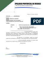 Oficio a la Fiscalia