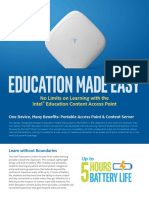 Content Access Point Product Brief