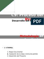 Proceso Del Proyecto_Desarrollo Del Proyecto
