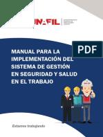 Manual para la implementación del Sistema de Gestión en Seguridad y Salud en el Trabajo