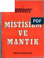 Bertrand Russell - Mistisizm Ve Mantık