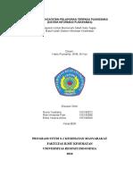 Tugas Sistem Pencatatan Pelaporan Puskesmas Terpadu