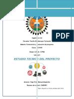 Tarea 3 Estudio Tecnico Del Proyecto de Trigomil