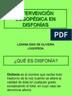 PWT DISFONÍA