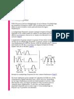 Multiplexage FDM