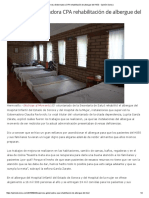 23-09-16 Supervisa Gobernadora CPA rehabilitación de Albergue del HIES. - Opinión Sonora