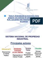 Redaccion de Solicitudes de Patente