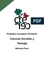 Programa Bethania Parra- CT Sociales y Teología Crecer 2017