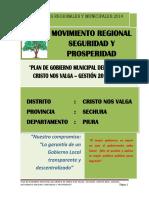 Proyecto de gestion Municipal