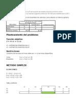 Programación Lineal - Metodo Simplex 7b 2015-6(1)
