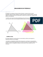 Generalidades de Un Triángulo