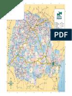 Mapa do PR