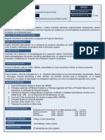 b. Maestria en Educacion Superior Mencion Elaboracion y Evaluacion de Proyectos Educativos