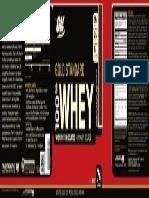 GNC label