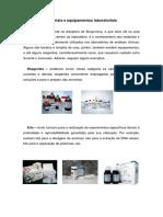 Materiais e Equipamentos Laboratoriais