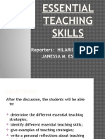 8. Essential Teaching Skill
