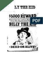 Billy the Kid viejo oeste