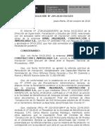 28 - Res 205 Nulidad Vimal Ingeniería, Construcción e Inmobiliaria s.a.