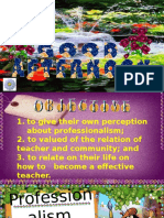 14. Professionalism and Effective Teacher