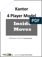 You Inc 4 Player Model Cards 2009-2
