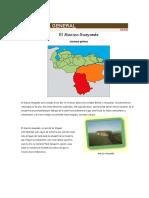Geografía General- Macizo Guayanes