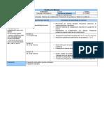 Planificación Mensual 2° tecnología