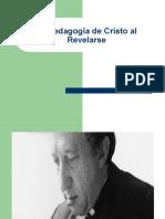 La Pedagogia de Cristo Al Revelarse Prof. David Lagos 2014 II