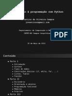 Minicurso Python Getmeeting