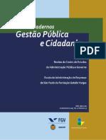 Cadernos Gestão Pública e Cidadania