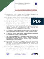 aclaraciones al reglamento de handball