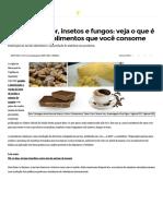 Pelos de Roedor, Insetos e Fungos_ Veja o Que é Permitido Em Alimentos Que Você Consome - ZH