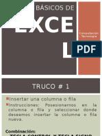 Trucos Básicos de Excel