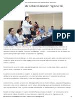 30/09/16 Preside Secretario de Gobierno Reunión Regional de Notarios. - Opinión Sonora