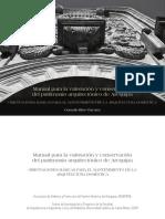 Manual para la valoración y conservación del patrimonio arquitectónico de Arequipa