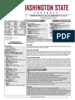 WSU 16FB Game Notes - Arizona State