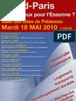 Expression 2010 Grand Paris - Plateau de Saclay - compétitivité PCF