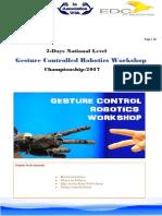 Gesture Controlled Robotics Workshop