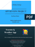 project review app- staci hiatt