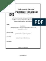 Informe Nº II Identificacion de Radioisotopos Atravez de Su Periodo de Semidesintegracion