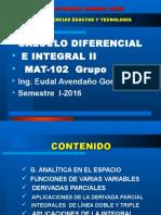 Presentación Ecuaciones Diferenciales - Ing. Avendaño