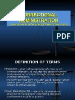 Institution Based Correction