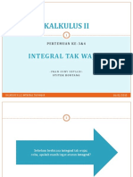 3,4 - Integral Tak Wajar