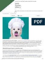 Cocina Casera Para Perros_ Cinco Recetas Rápidas, Saludables y Baratas _ EROSKI CONSUMER