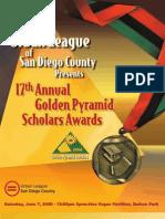 2008 Golden Pyramid Awards Program Book