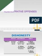 Short Presentation - Dishonesty