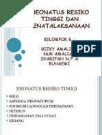 Neonatus Resiko Tinggi Dan Penatalaksanaan